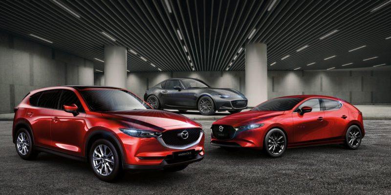 Mazda Jahrhundert-Modelle