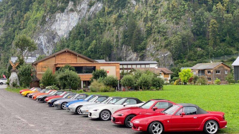 Unsere Tiroler Freunde waren am 22./23. August 2020 zu Besuch
