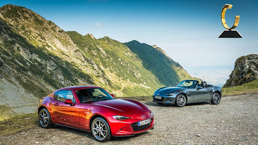 Mazda MX-5 siegt im dritten Jahr in Folge bei der Auto Trophy