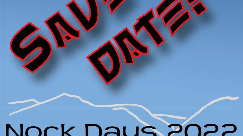 Nock Days 2022 Voranmeldung